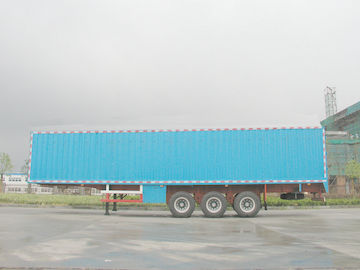 China High-strength Steel Van Semi Trailer proveedor